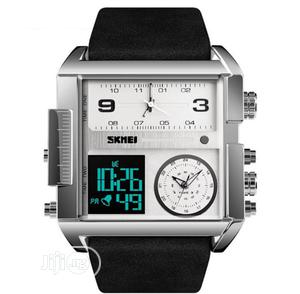 Skmei Men's Digital Multifunctional Waterproof Wristwatchtch | Watches for sale in Lagos State, Apapa