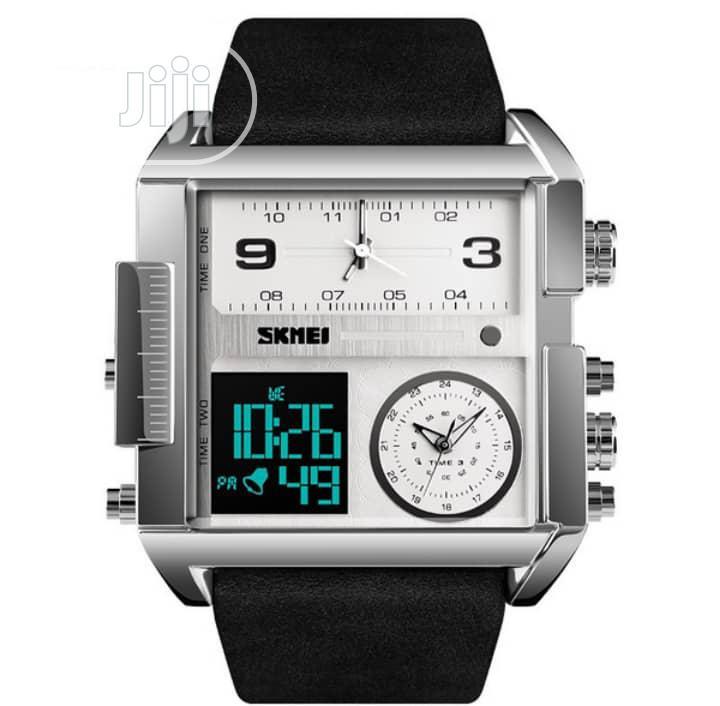 Skmei Men's Digital Multifunctional Waterproof Wristwatchtch