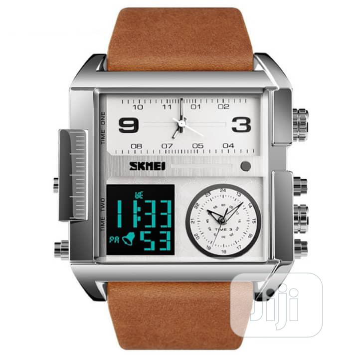 Skmei Men's Digital Multifunctional Waterproof Wristwatchtch   Watches for sale in Apapa, Lagos State, Nigeria