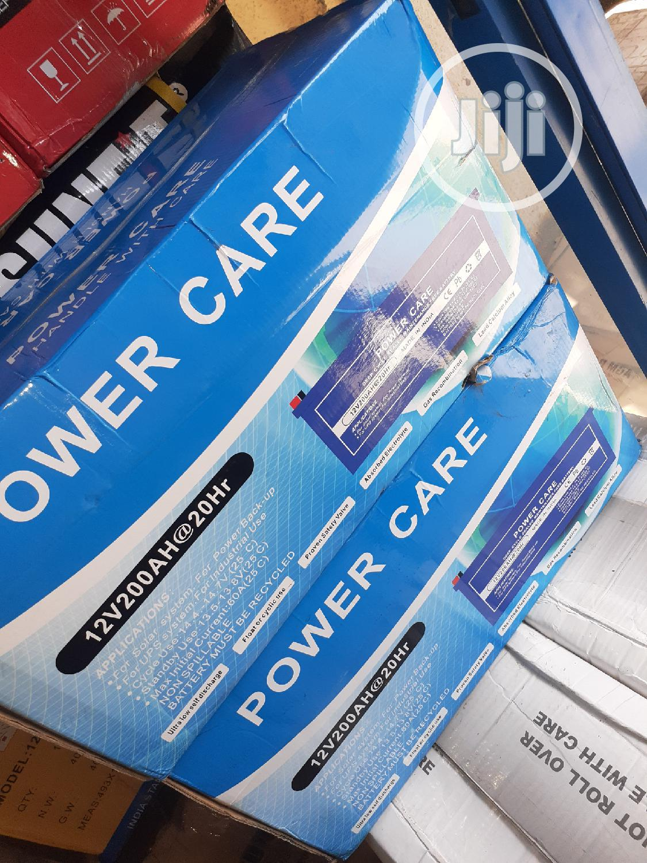 12v 200ah Power Care Battery Now In