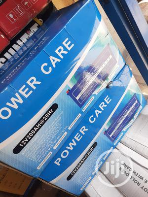12v 200ah Power Care Battery Now In | Solar Energy for sale in Lagos State, Ojo