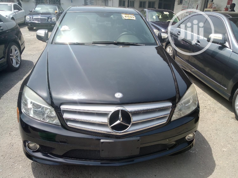 Mercedes-Benz C300 2008 Black