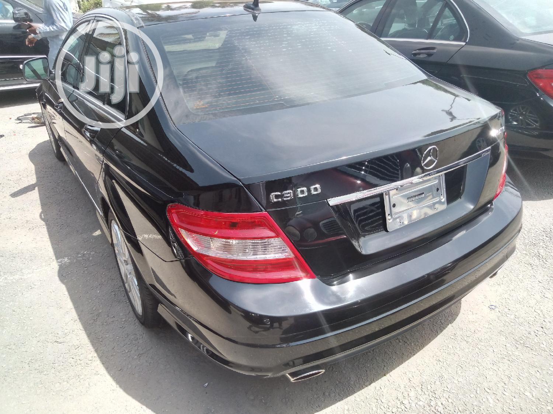 Mercedes-Benz C300 2008 Black   Cars for sale in Apapa, Lagos State, Nigeria