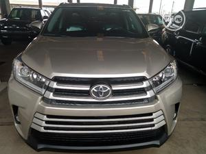 Toyota Highlander 2015 Gold | Cars for sale in Lagos State, Apapa