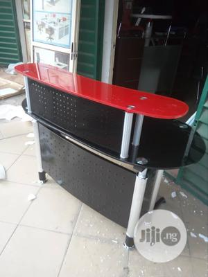 Super Quality Imported Office Glass Receptionist Table   Furniture for sale in Lagos State, Magodo