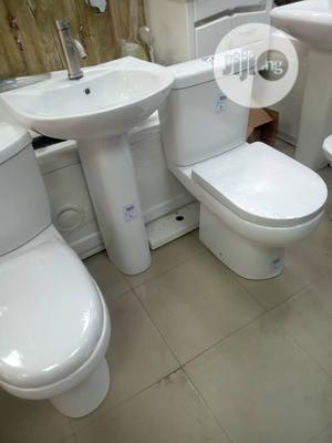 Original WC With Wash Hand Basin | Plumbing & Water Supply for sale in Lagos State, Orile