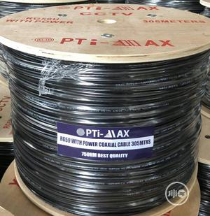 Optimax Rg59+Power, Rg58+Power CCTV 100% Pure Copper Cables | Accessories & Supplies for Electronics for sale in Lagos State, Ojo