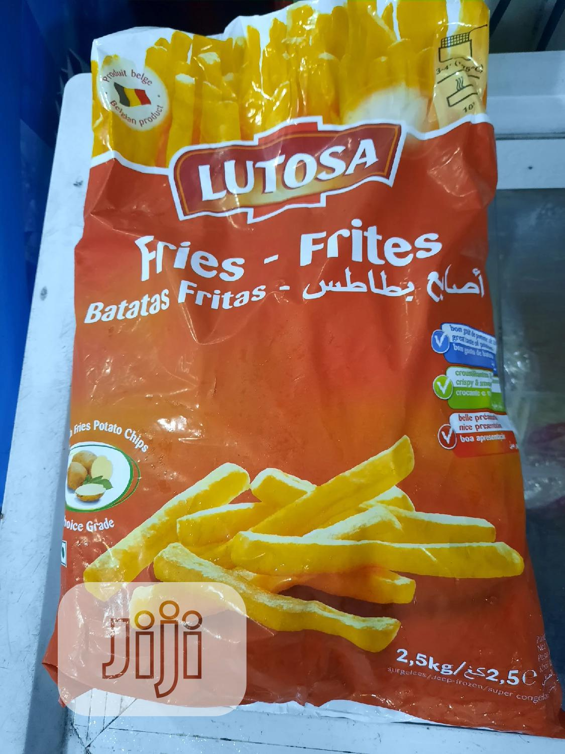Lutosa French Fries Potato Chips - 2.5kg