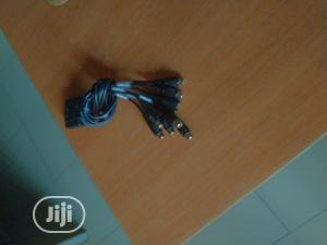 VGA Adapter To TV S-video RCA Out Cable For PC Video | Accessories & Supplies for Electronics for sale in Lagos State, Ikeja