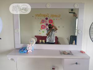 Salon/Makeup Mirror With Lights And Drawer   Salon Equipment for sale in Imo State, Owerri