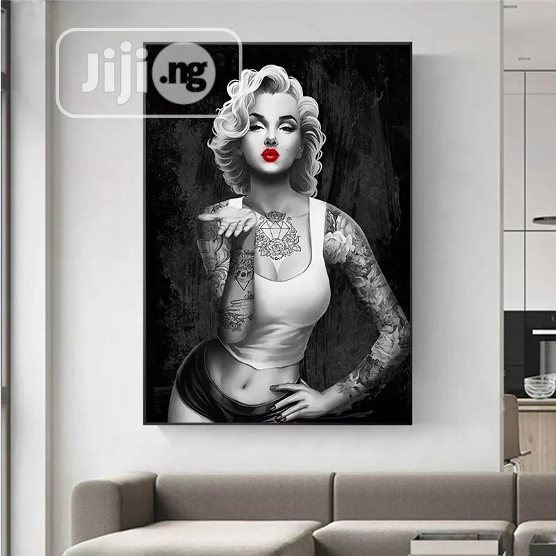 Hip Hop Tattoos Girl Wall Art Picture   Arts & Crafts for sale in Lagos Island (Eko), Lagos State, Nigeria