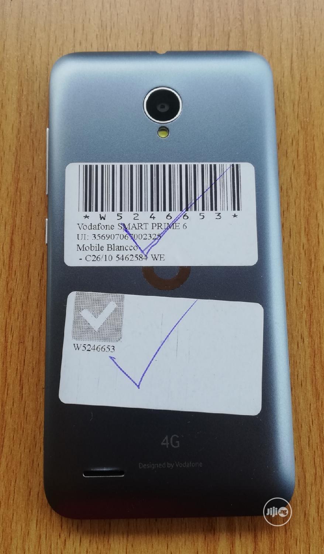Vodafone Smart Prime 6 8 GB Gray