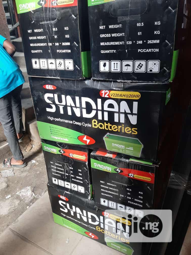 Syndian Solar Battery 12v/220ahs