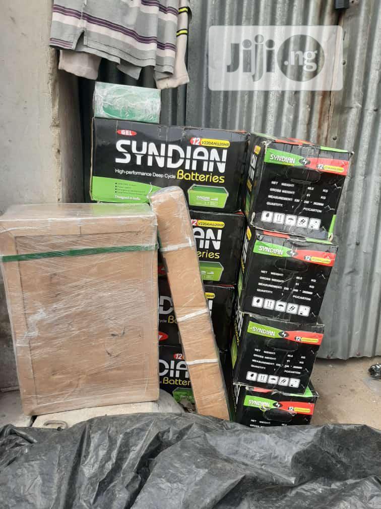 Syndian Solar Battery 12v/220ahs   Solar Energy for sale in Lekki, Lagos State, Nigeria
