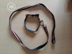 Leash And Collar Small   Pet's Accessories for sale in Lagos State, Agege