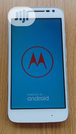 Motorola Moto G4 Play 16 GB White | Mobile Phones for sale in Lagos State, Mushin