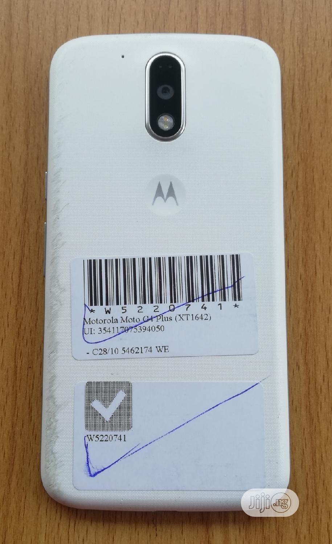 Motorola Moto G4 Plus 16 GB White | Mobile Phones for sale in Mushin, Lagos State, Nigeria