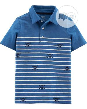 Skulls Slub Jersey Polo   Children's Clothing for sale in Lagos State, Ajah
