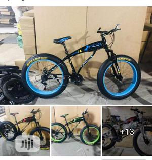 Top Speed Brand New Fat Tyre Bicycle For Sale | Sports Equipment for sale in Lagos State, Surulere