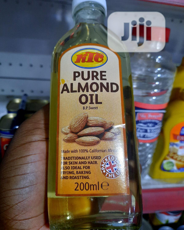 KTC Pure Almond Oil - 100% Pure Almond Oil