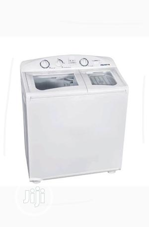 Polystar 10kg Washing Machine Top Loader Twin Tub Pv-Wd10kg   Home Appliances for sale in Abuja (FCT) State, Karshi