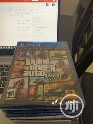 Grand Theft Auto v - Premium Online Edition (PS4) | Video Games for sale in Kwara State, Offa