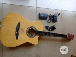 Full Combo Guitar With Pick Up   Musical Instruments & Gear for sale in Abuja (FCT) State, Central Business District