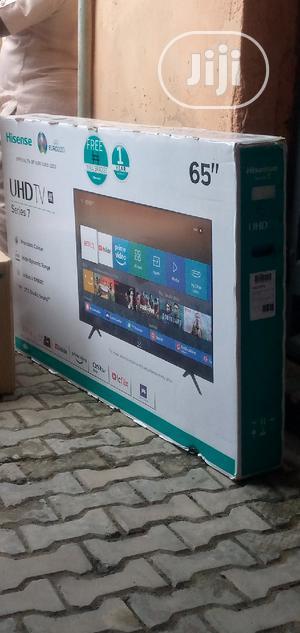 Hisense 65inches Led Smart TV | TV & DVD Equipment for sale in Lagos State, Ojo