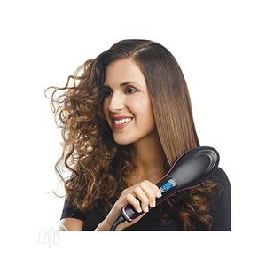 Simply Straight Electric Ceramic Hair Straightener Brush | Tools & Accessories for sale in Lagos State, Kosofe