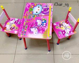 Table And Double Chairs   Children's Furniture for sale in Lagos State, Amuwo-Odofin