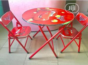 Table With Double Chairs   Children's Furniture for sale in Lagos State, Amuwo-Odofin