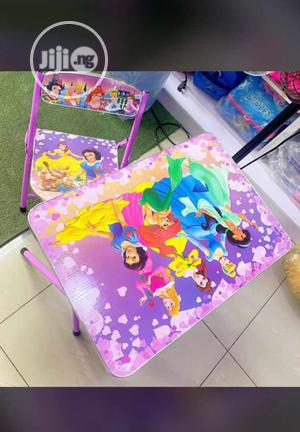 Wooden Table And Chair   Children's Furniture for sale in Lagos State, Amuwo-Odofin