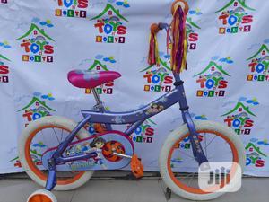 Children Bicycle Size 16 Dora Theme Bike   Toys for sale in Lagos State, Ikeja