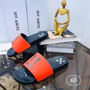 Off-white Designer's Unisex Slippers | Shoes for sale in Lagos State, Ajah