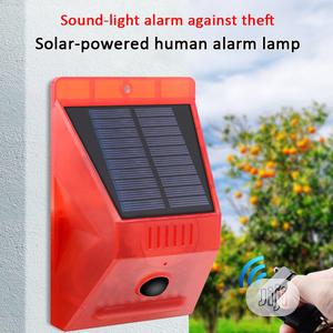 Solar Alarm Sensor Lamp With Remote Control | Solar Energy for sale in Lagos State, Ikeja