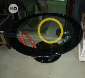 Very Unique Imported Round Glass Center Table | Furniture for sale in Rivers State, Eleme