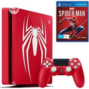 Ps4 Console 1tb Spiderman - Amazing Red | Video Game Consoles for sale in Lagos State, Ikeja