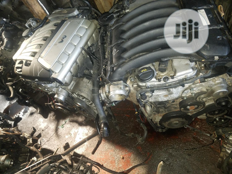 Engine V6 Porsche and V6 Touareg