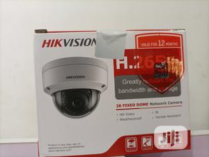 DS-2CD1123GO-I Hikvision 2.0 MP IR Network Dome Camera | Security & Surveillance for sale in Lagos State, Ikeja