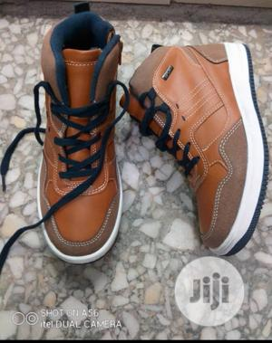 Brown Ankle High Top Sneakers   Children's Shoes for sale in Lagos State, Lagos Island (Eko)