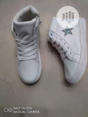 White Ankle Sneakers   Children's Shoes for sale in Lagos State, Lagos Island (Eko)