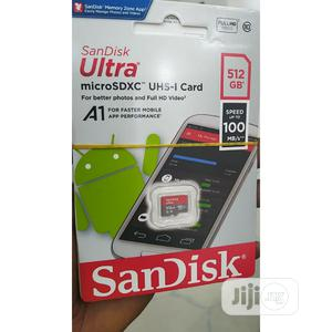 512gb Memory Card Sandisk 100mb/S | Accessories for Mobile Phones & Tablets for sale in Lagos State, Ikeja