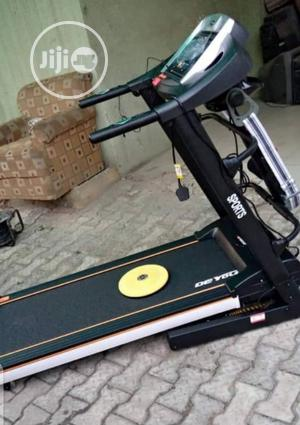 2.5hp De Young Treadmill With Massager | Sports Equipment for sale in Lagos State, Surulere