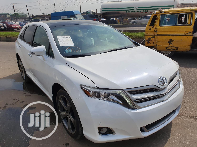 Toyota Venza 2015 White