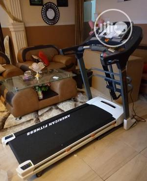 Original 2.5hp Treadmill With Massager and Mp3 Heavy Duty | Sports Equipment for sale in Lagos State, Ipaja