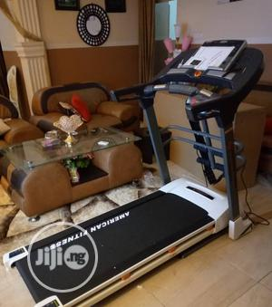 2.5hp Treadmill With Massager and Mp3 Heavy Duty | Sports Equipment for sale in Lagos State, Ikorodu