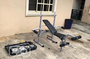 Weight Lifting Bench With 50kg Case Dumbbell   Sports Equipment for sale in Lagos State, Surulere