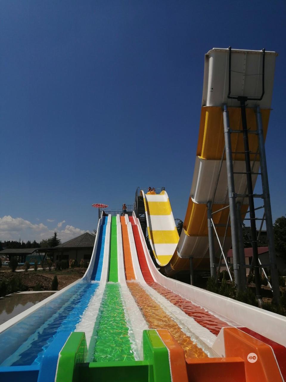 Water Slides for Playground Development