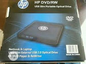 HP External DVD/RW Slim Portable Drive | Computer Hardware for sale in Lagos State, Ikeja