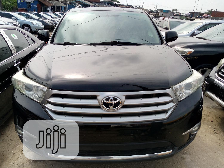 Toyota Highlander 2012 Black